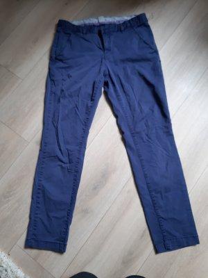 H&M L.O.G.G. Pantalon chinos bleu