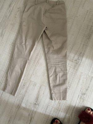 H&M Pantalon chinos beige coton