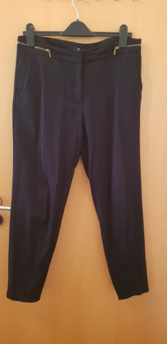 H&M Jersey Pants black-gold-colored