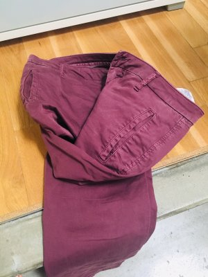 Chino Hose in Bordeaux !