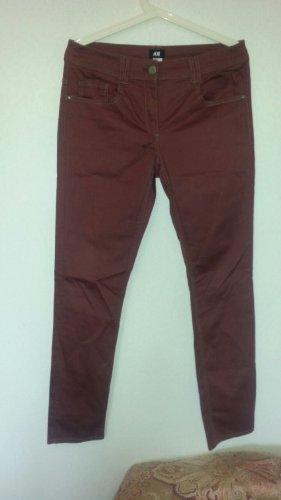 H&M Tube jeans veelkleurig Katoen