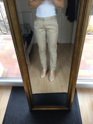 Pantalone chino crema