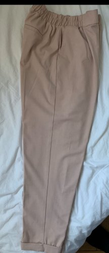 Bershka Chinos rose-gold-coloured