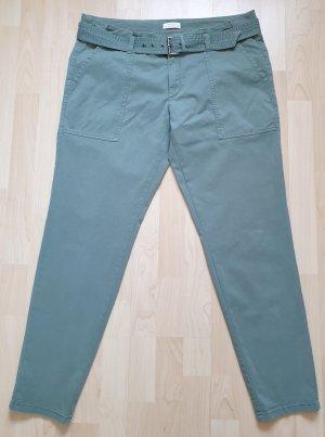 Chino-Hose von Esprit * Gr.42 * mit hohem Bund * mit Gürtel * khaki