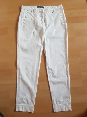 Esprit Pantalone chino bianco sporco Cotone
