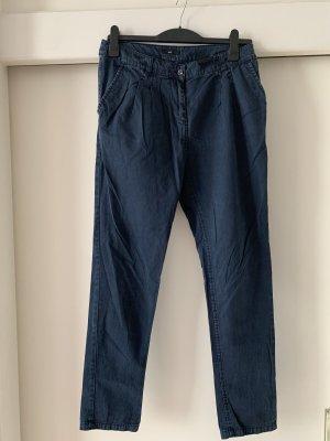 Chino Hose von H&M in dunkelblau, Größe 38