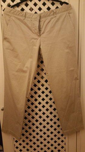 Miu Miu Pantalone a 3/4 beige chiaro