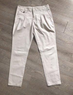 Zara Pantalon chinos beige clair