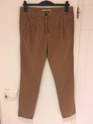 Zara Woman Pantalone chino multicolore Cotone