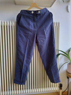 Mango Suit Pantalone chino grigio ardesia