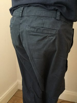 Gang Pantalon chinos bleu foncé coton