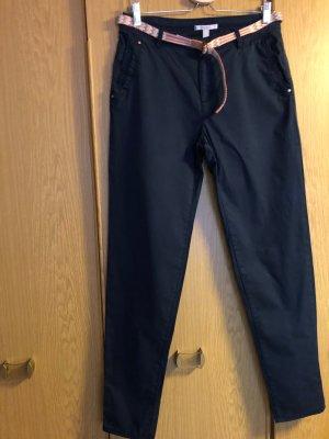 Esprit Pantalone chino blu scuro Cotone
