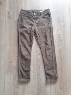 Sir Oliver 7/8 Length Trousers brown