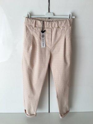 Wendy Trendy Pantalon chinos crème-chameau