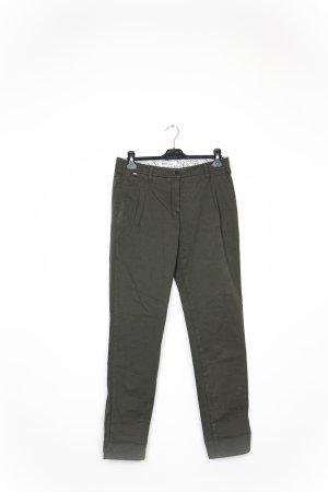 Pantalone chino verde oliva