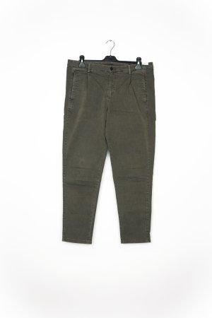 Pantalone chino verde-grigio