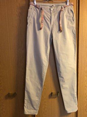 Esprit Pantalone chino beige Cotone