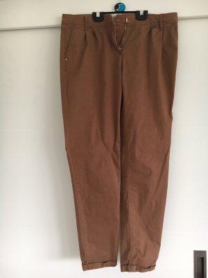 Reserved Pantalone chino marrone chiaro Cotone