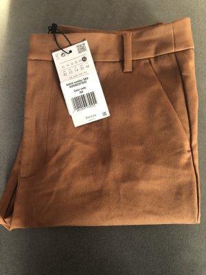 Bershka Pantalon chinos brun