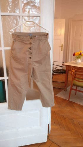 COS Boyfriend Trousers sand brown-beige cotton