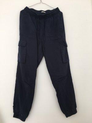 Tom Tailor Pantalon chinos bleu foncé