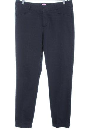 Pantalone chino blu scuro stile professionale