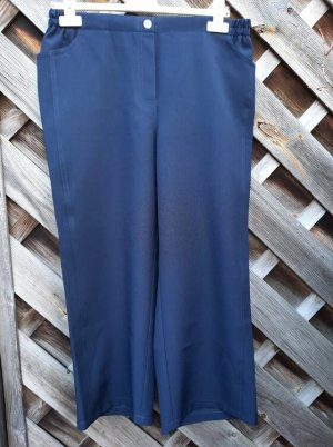 unknown 7/8 Length Trousers dark blue polyester
