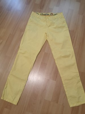 Fresh made Pantalon chinos jaune
