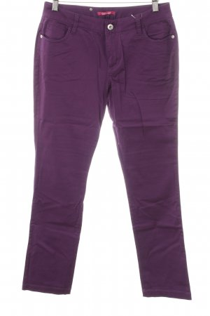 Pantalone chino lilla stile casual