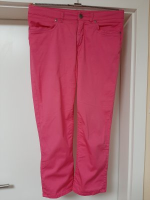 H.I.S 7/8 Length Trousers pink cotton