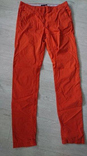 Tommy Hilfiger Pantalone chino arancione