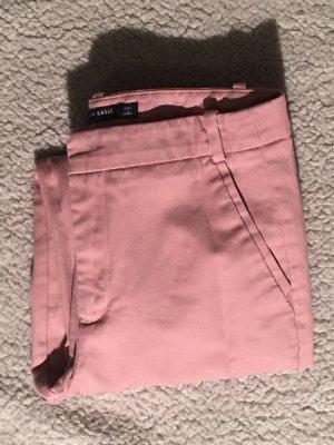 Zara Basic Pantalone chino rosa antico