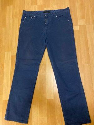 Calvin Klein Jeans Chinosy ciemnoniebieski
