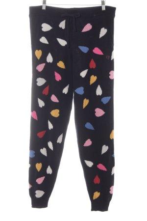 Chinti and parker Pantalone di lana multicolore stile casual