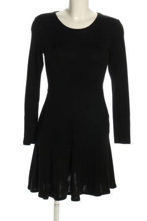 Chinti and parker Vestito di lana nero stile casual