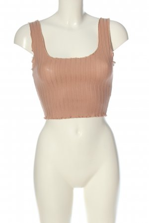 Chiquelle Cropped Top nude casual look