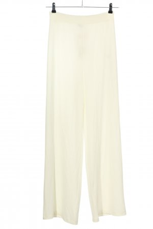 Chiquelle Marlene Trousers cream casual look