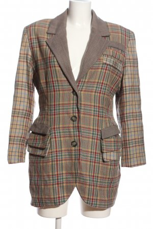 Chiwitt Blazer in maglia motivo a quadri stile casual
