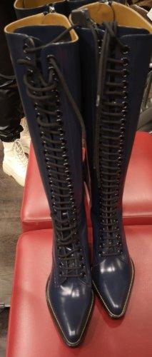 Chloé Buty zimowe ciemnoniebieski