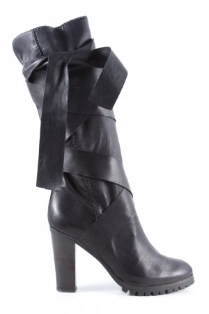 Chloé Absatz Stiefel schwarz Casual-Look