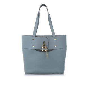Chloe Aby Leather Bucket Bag