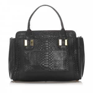 Chloe Alison Embossed Leather Handbag