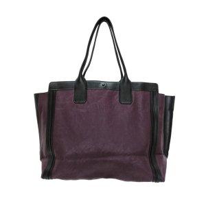 Chloé Sac fourre-tout violet cuir