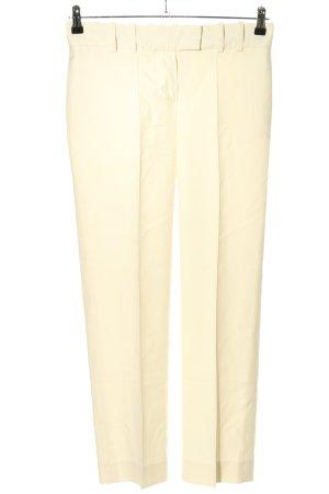 Chloé Pantalon de costume crème style décontracté