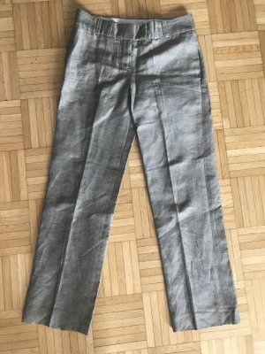 Chloé Peg Top Trousers camel-silver-colored cotton