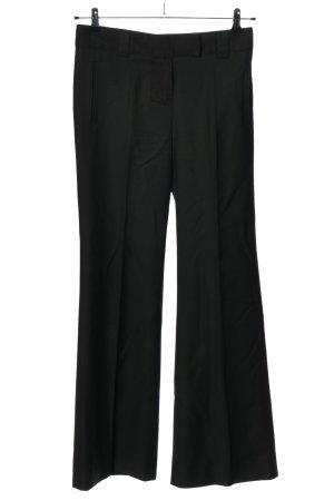Chloé Spodnie garniturowe czarny W stylu biznesowym