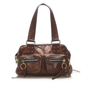 Chloe Betty Leather Tote Bag