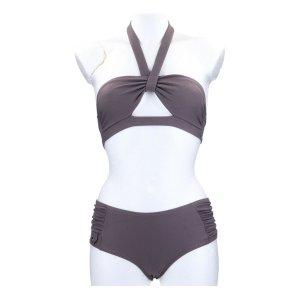 Chloé Bikini szaro-brązowy Poliamid