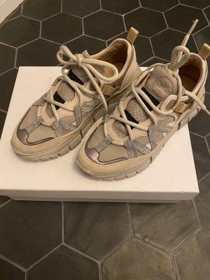 Chloé Sneaker stringata multicolore Pelle