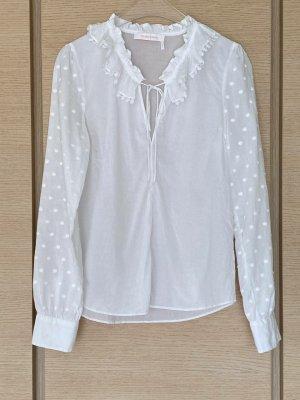 Chloé Blouse Shirt white